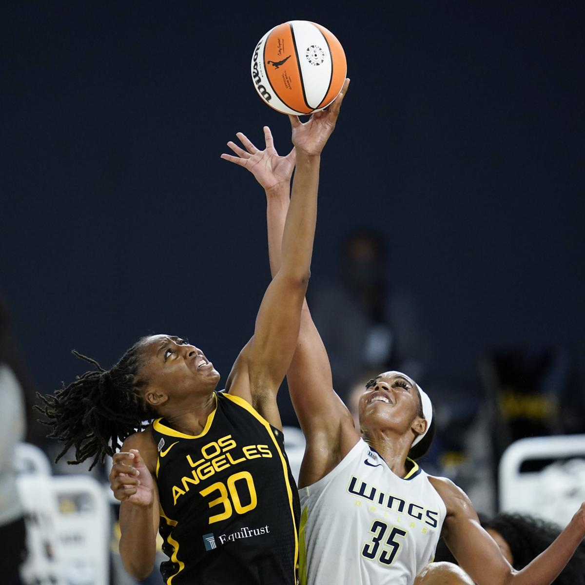 <p>2021 WNBA No. 1 Draft Pick Charli Collier Drops 11 Points in Wings Debut thumbnail