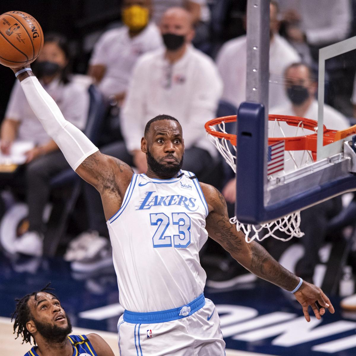 NBA Playoff Picture 2021: Latest Play-in Bracket, Seeding ...