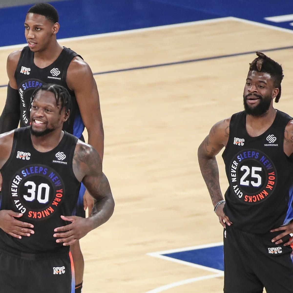 <p>Knicks' Complete Guide to 1st-Round Playoff Series vs. Hawks thumbnail