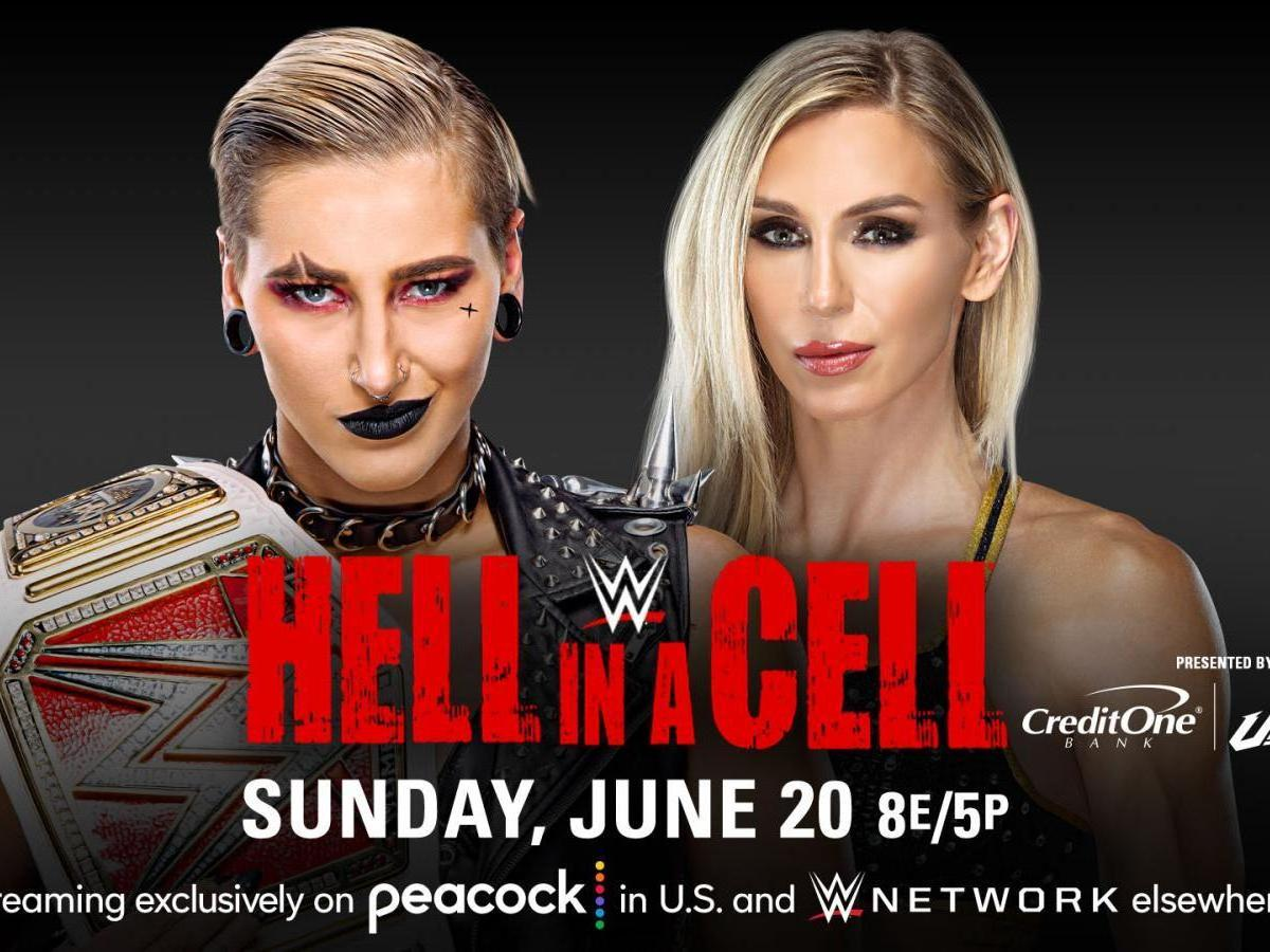 Rhea Ripley Retains Raw Women's Title as Charlotte Wins Via DQ at Hell in a Cell