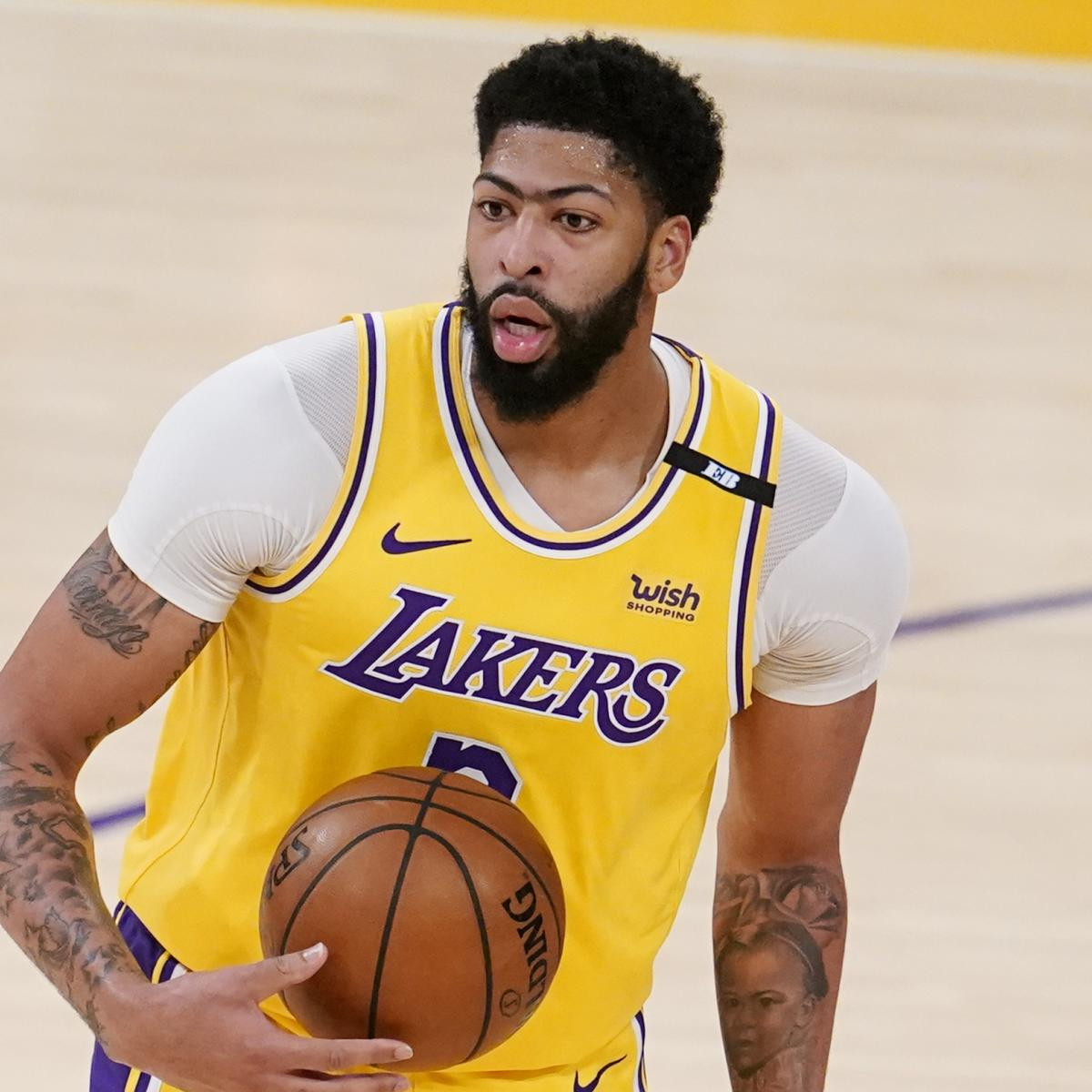 Report: Lakers' Anthony Davis Plans to Play Game 6 vs. Suns Despite Groin Injury thumbnail