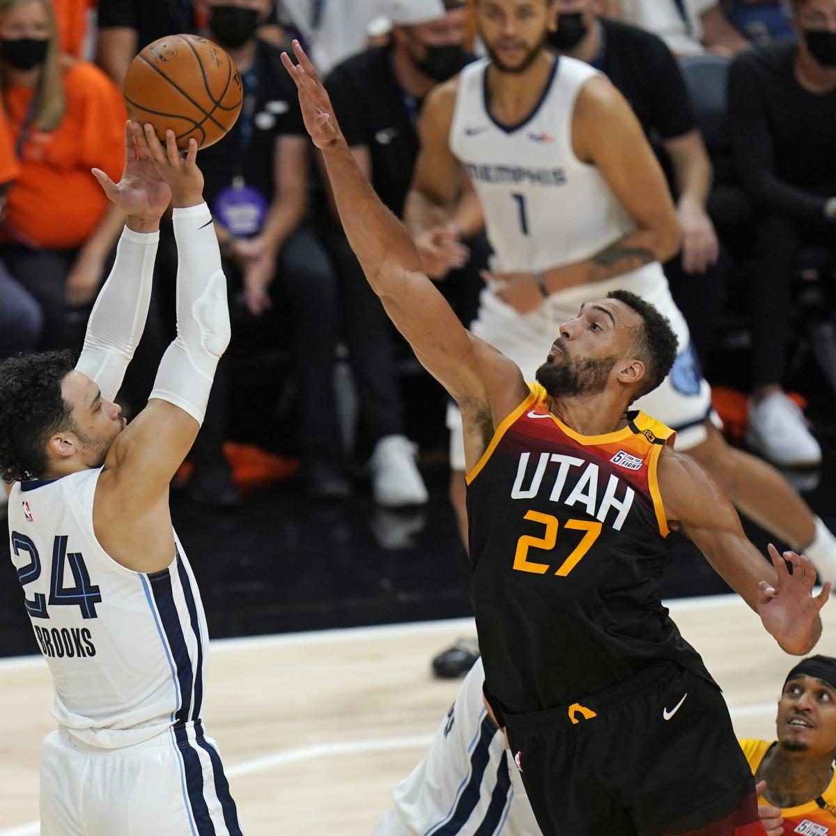 <p>Rudy Gobert Named 2020-21 NBA Defensive Player of the Year over Ben Simmons thumbnail