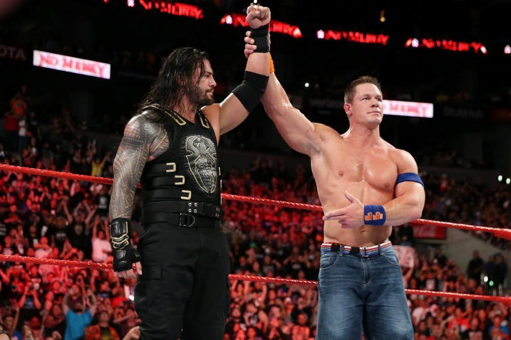 <p>Backstage WWE Rumors: Latest on Roman Reigns vs. John Cena, Aleister Black, More thumbnail