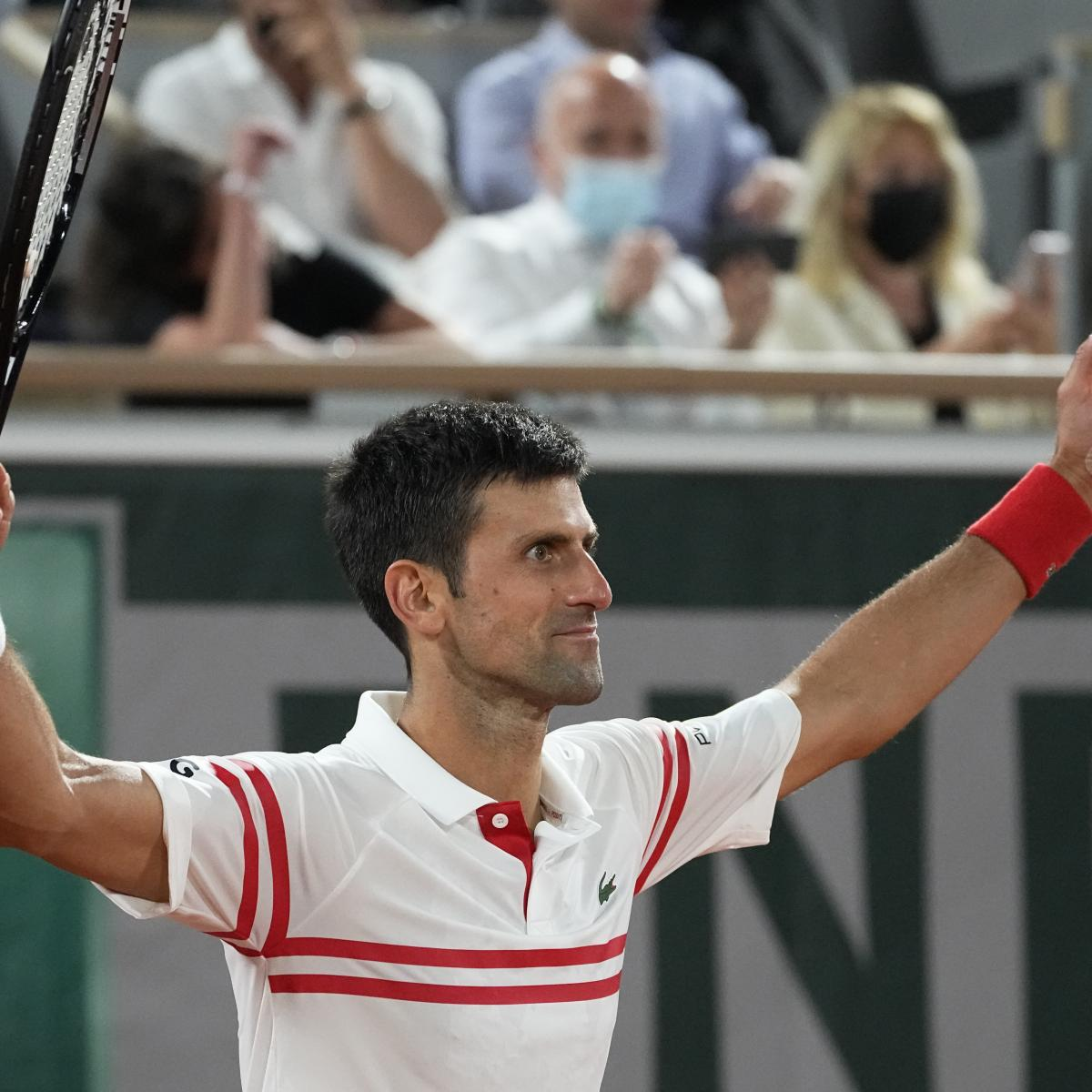 French Open 2021 Results: Friday Winners, Scores, Stats and Singles Draw Update