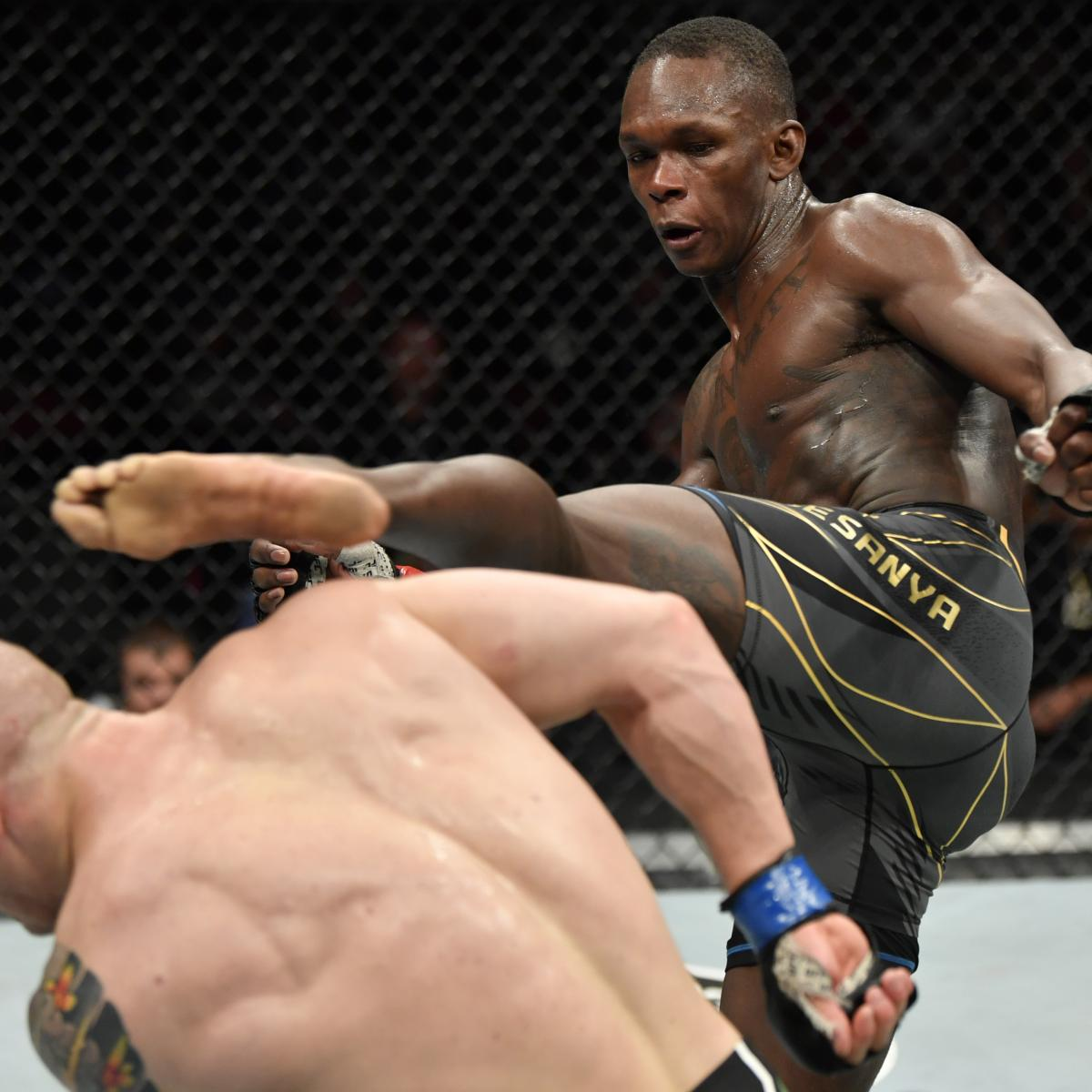 <p>Israel Adesanya's UFC 263 Win Paves the Way for Massive Robert Whittaker Rematch thumbnail