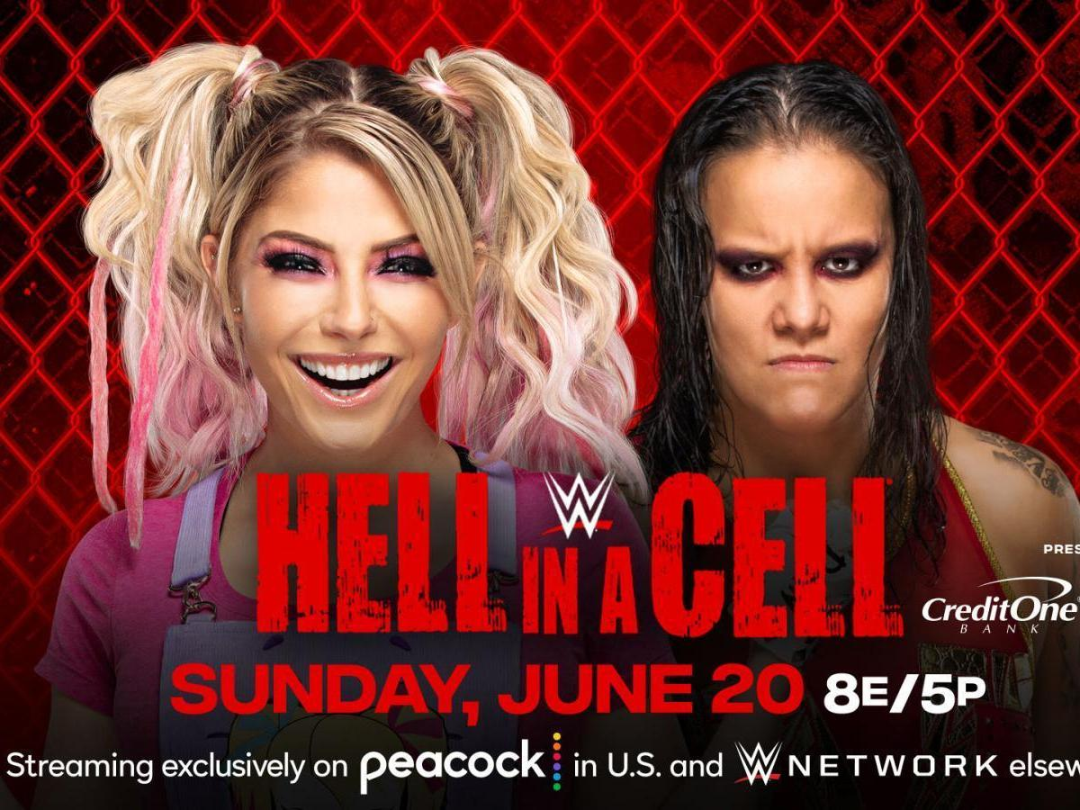 Alexa Bliss Beats Shayna Baszler at 2021 WWE Hell in a Cell