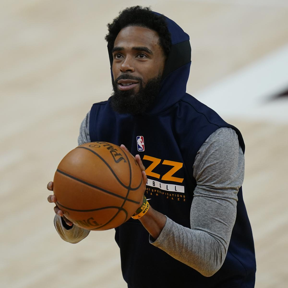 Report: Donovan Mitchell to Be Game-Time Decision for Game 6; Conley Progressing