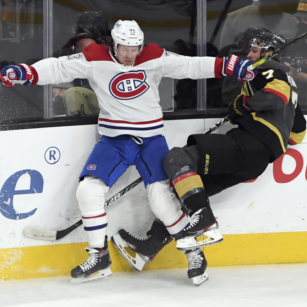 NHL Playoff Bracket 2021: Dates, TV Schedule, Game Times, Odds and Picks