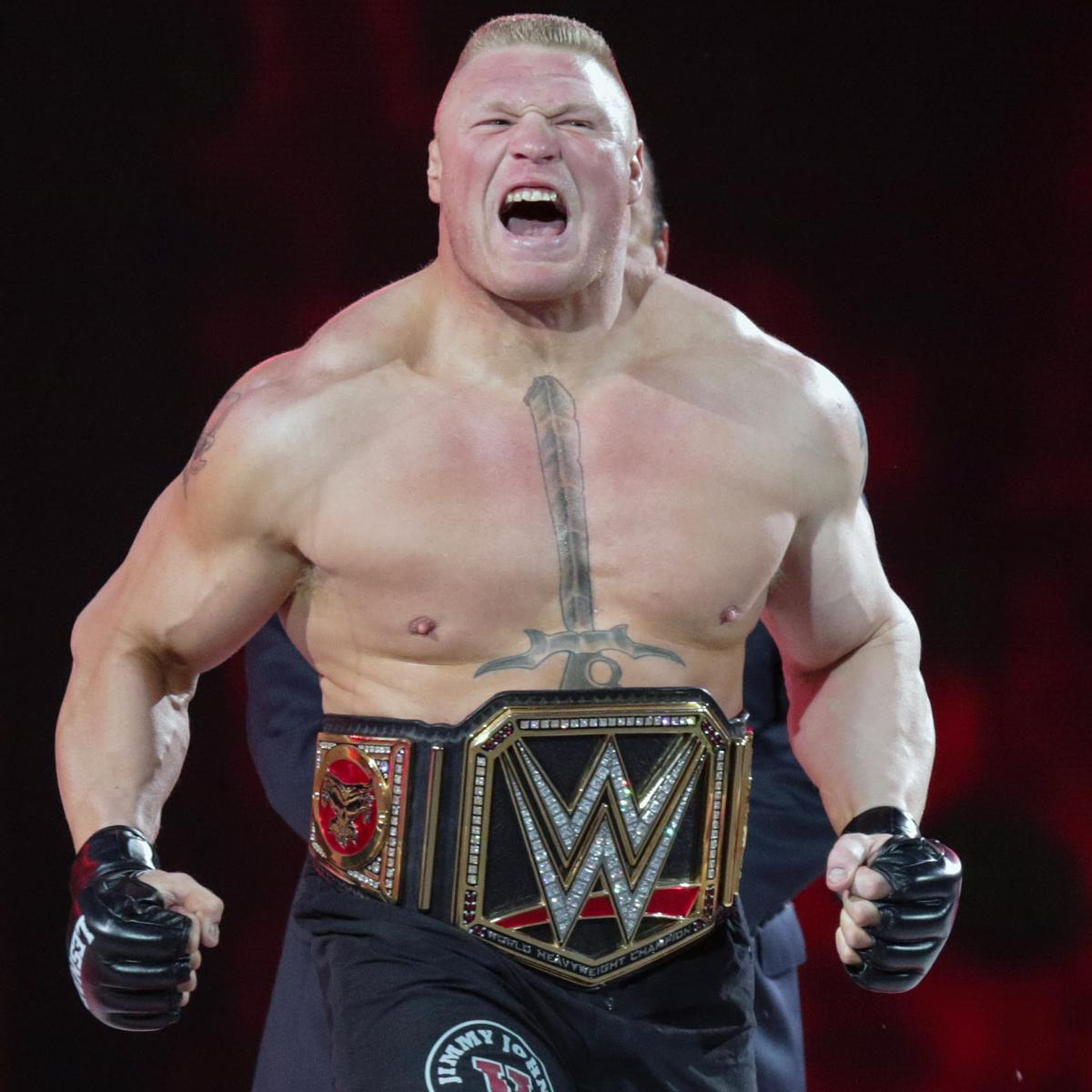 WWE Rumors: Latest on Brock Lesnar Plans; Xavier Woods' and Kevin Owens' Futures