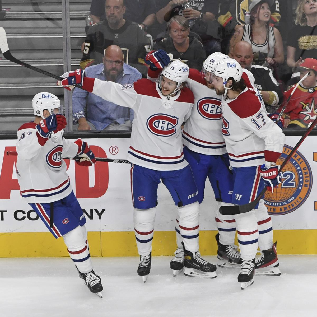Canadiens Eliminate Golden Knights, Advance to 1st Stanley Cup Final Since 1993