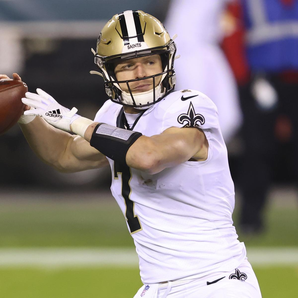 Saints' Taysom Hill Carted Off Injured vs. WFT, Diagnosed with Concussion