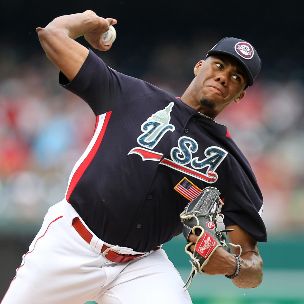 Hunter Greene and MLB's 10 Hardest-Throwing Pitching Prospects in 2021