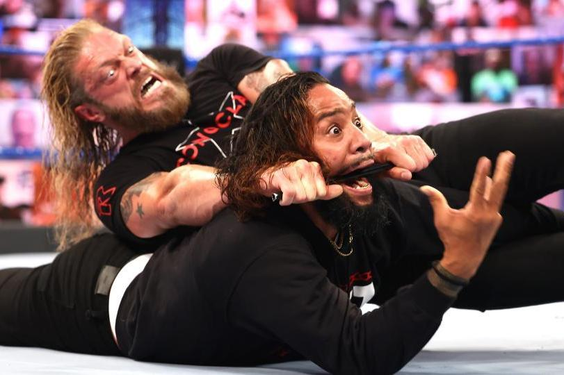 Edge Dispatches Jimmy Uso, Zelina Vega Is Back and More WWE SmackDown Fallout