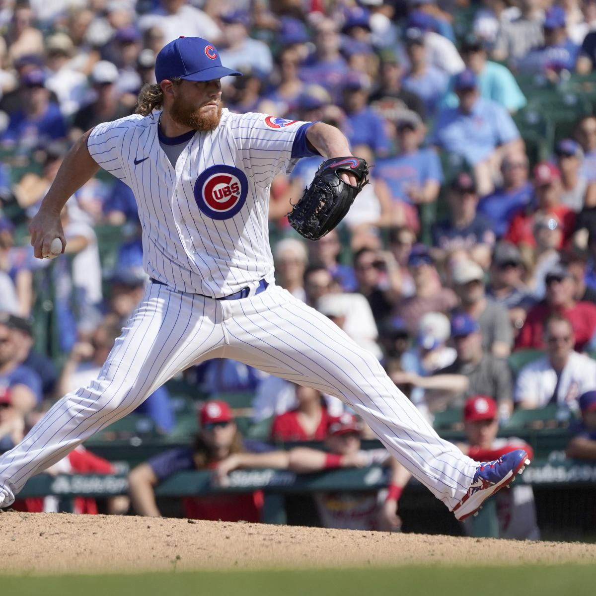 Report: Craig Kimbrel Traded to White Sox from Cubs Ahead of 2021 MLB Deadline