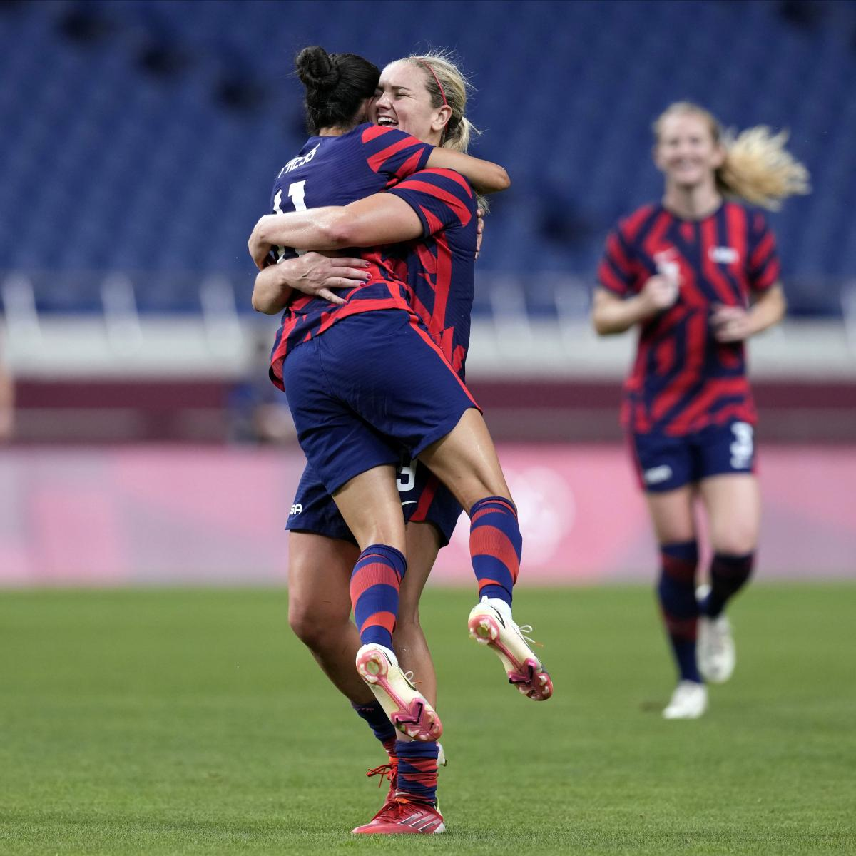 Olympic Soccer 2021: USWNT's Bounce-Back Win Headlines Saturday's Results
