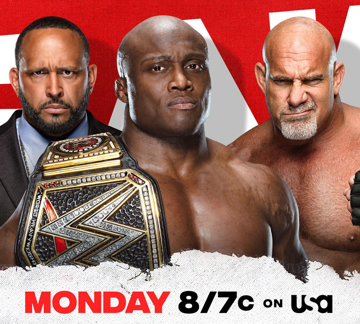 Advice to WWE Creative: How to Make Goldberg and Lashley Look Good in Their Feud