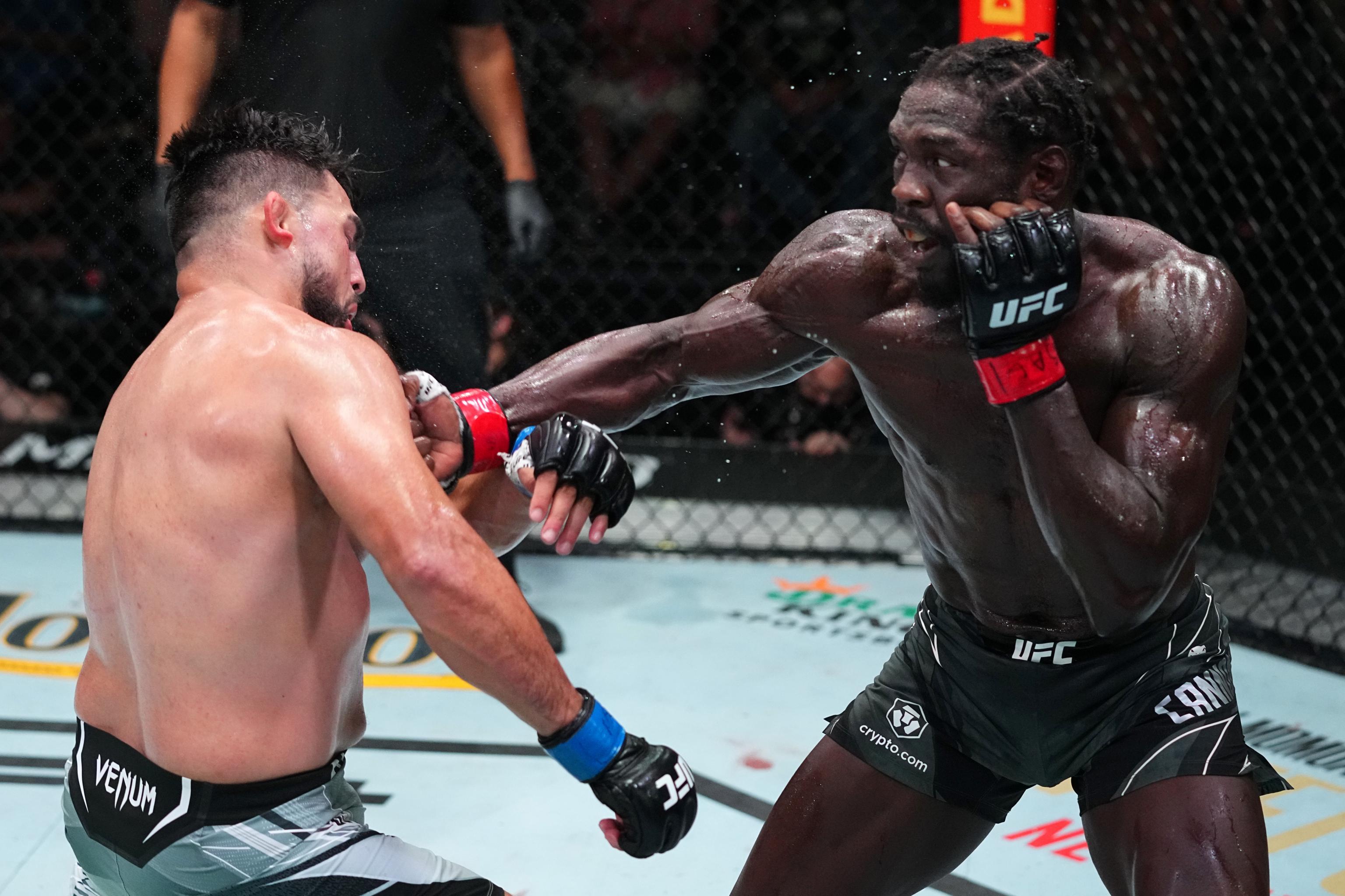 UFC on ESPN 29 Results: Jared Cannonier Beats Kelvin Gastelum