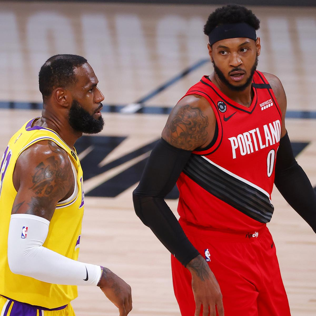 Lakers News: Carmelo Anthony, Wayne Ellington Discuss Signing Contracts with LA