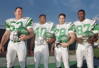 new concept 7a60f 41658 The New York Jets and Their NFL Uniforms (1960-Present ...
