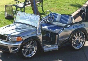 Pimped Out Golf Carts Nicer Than Your Car | Bleacher Report | Latest on swing golf, cool golf, 1985 volkswagen golf, country golf, german golf, halloween golf, old school golf, love golf, pink golf,
