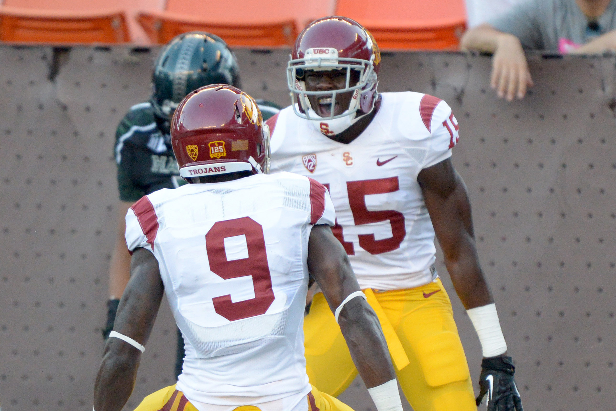 newest b1b7f 95766 Marqise Lee vs. Nelson Agholor: Who Will Graduate USC with ...