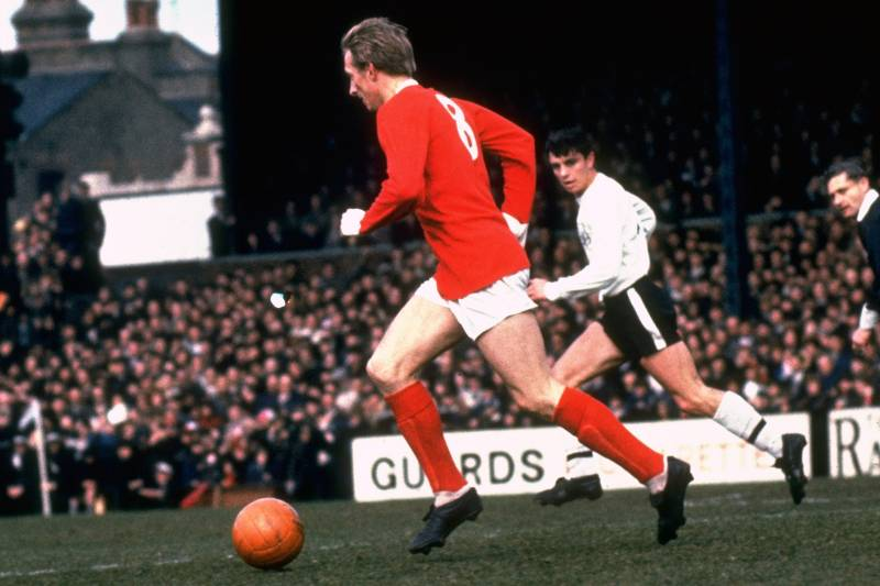 dbfc177821a 50 Years of Manchester United Home Kits from 1964 to 2014