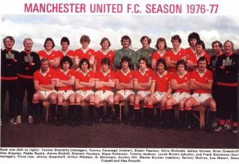 50 Years of Manchester United Home Kits from 1964 to 2014  c87cf0291