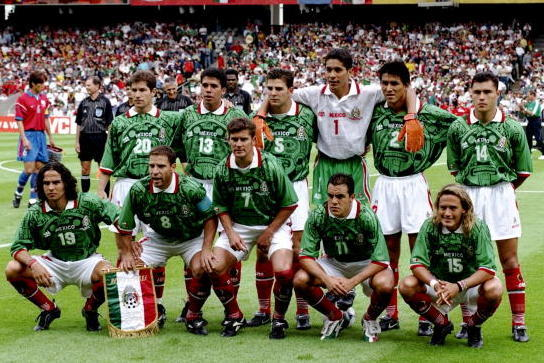 finest selection 4ab8a e7ec9 Mexico's Best and Worst World Cup Jerseys | Bleacher Report ...
