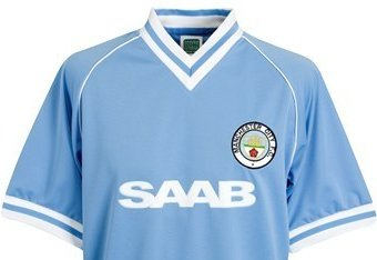 50 Years of Manchester City Home Kits from 1964 to 2014  532fc5d00