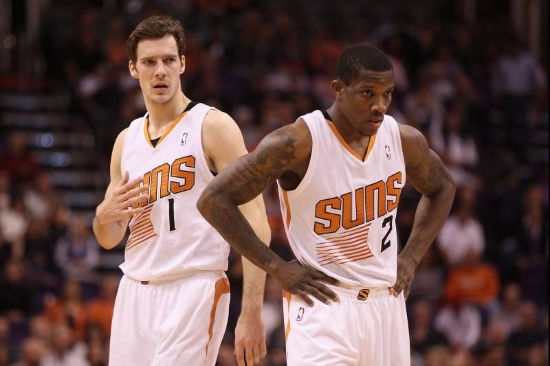 Initial Post Draft Depth Chart For Phoenix Suns