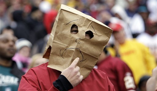 Bag Headed Sports Fans Who Love Awful Teams Bleacher Report Latest News Videos And Highlights