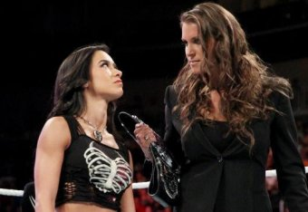 Top 10 Aj Lee Feuds That Never Were At Wwe Bleacher Report