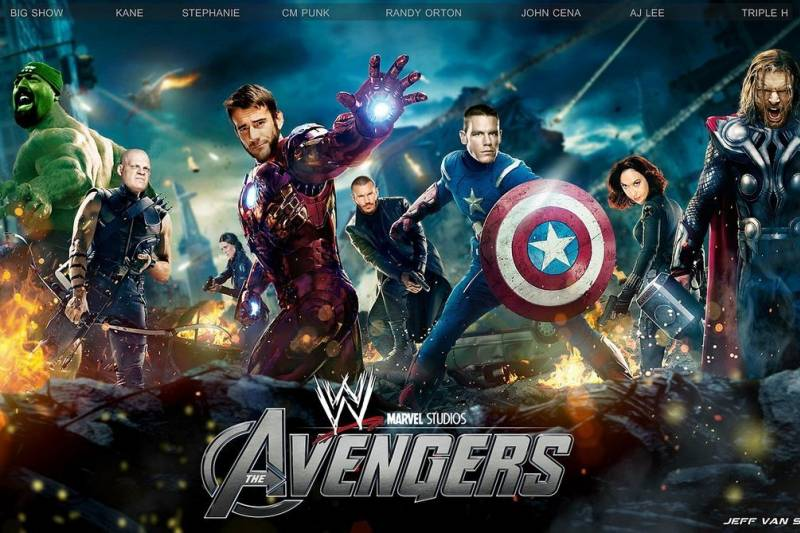 Recasting 'Avengers: Age of Ultron' with WWE Superstars | Bleacher