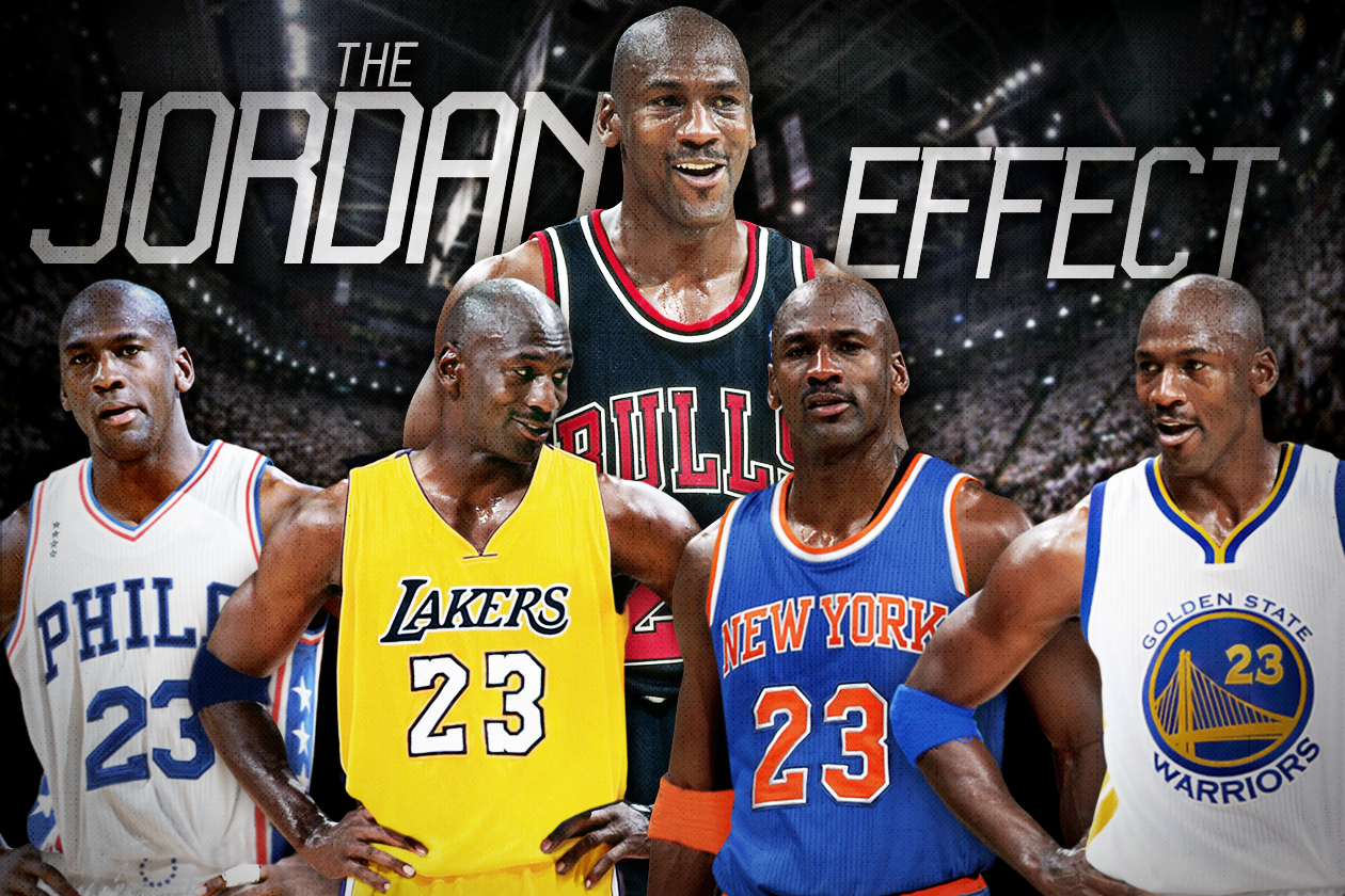 the latest ae1ea b476a How Much Better Would Peak Michael Jordan Have Made Your ...