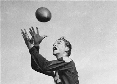Don Hutson revolutionized the wide receiver position both at the college level and in the NFL.
