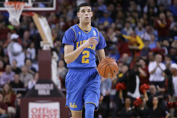 6222821592d Lonzo Ball is expected to be a high-lottery NBA draft pick this year.