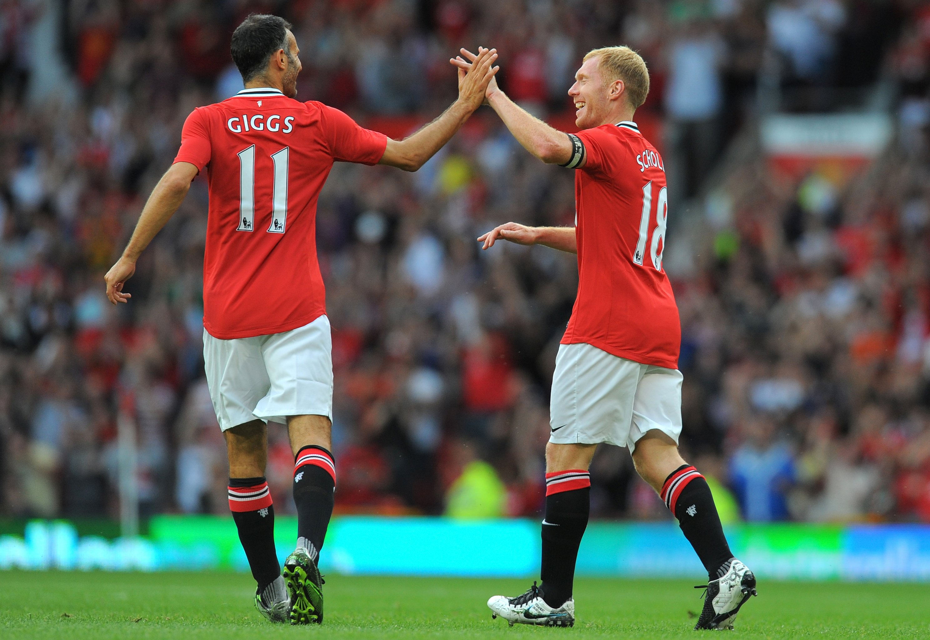 Manchester United S All Time Premier League Squad Based On