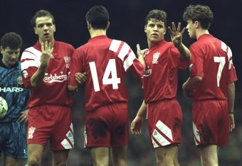 Ranking Liverpool s Home Kits During the Premier League Era ... 4364bd751