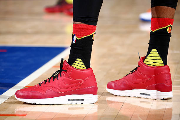 b62ef0d8f The Wildest Non-Basketball Sneakers Worn in an NBA Game