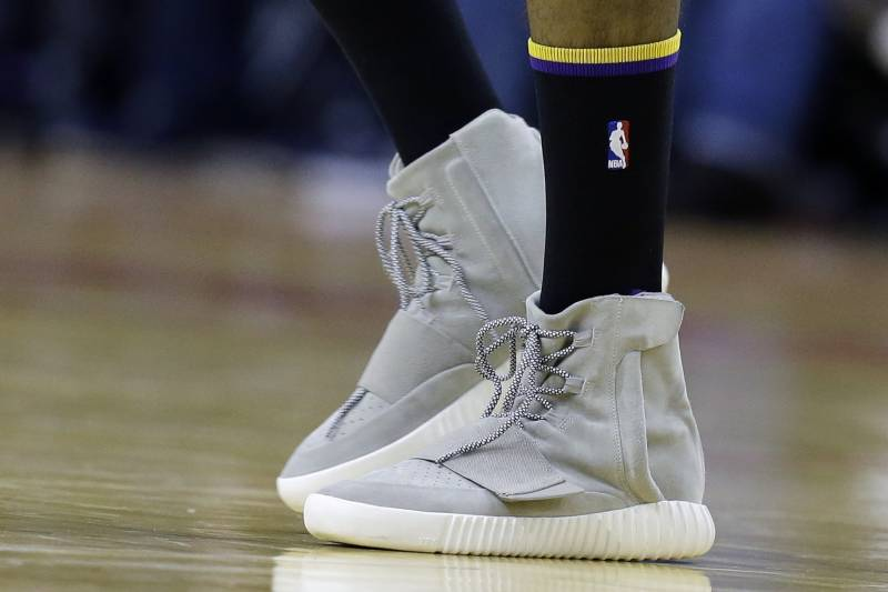 a270d3a4d13858 The Wildest Non-Basketball Sneakers Worn in an NBA Game