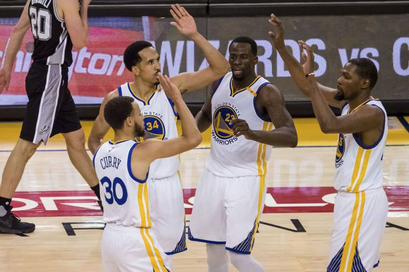 5 Takeaways from Golden State Warriors' Early Showing vs  San