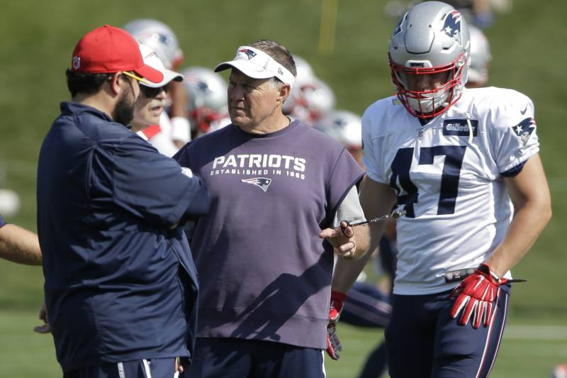 7802a5028 New England Patriots  Rounding Up Latest Buzz from Training Camp ...