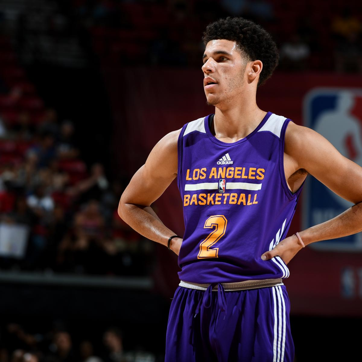 cdc4233a9 Realistic Expectations for Los Angeles Lakers  2017-18 Starting Lineup