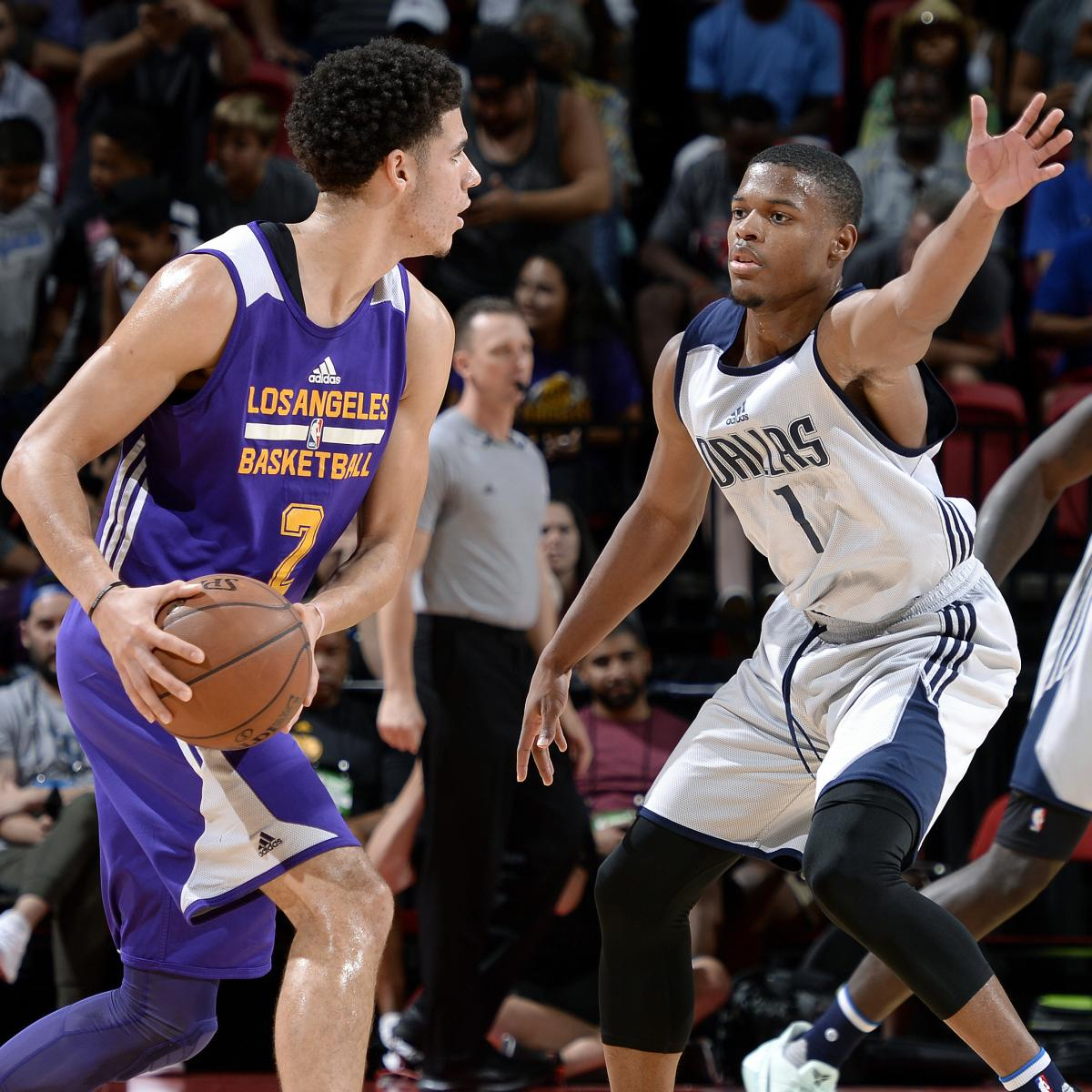 Building The Perfect NBA Rookie From This Year's Draft