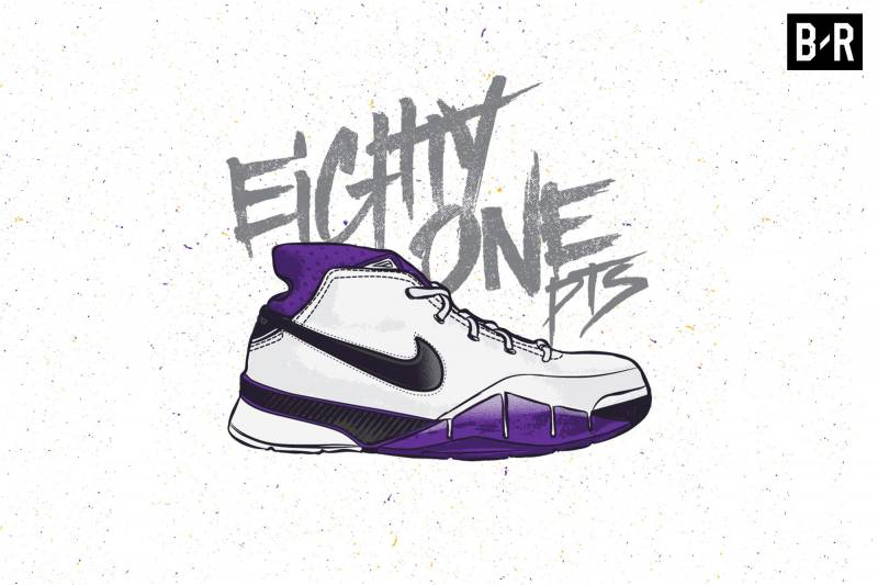 the best attitude e103a a59ca An Illustrated Guide to Kobe Bryant s Nike Sneaker History ...