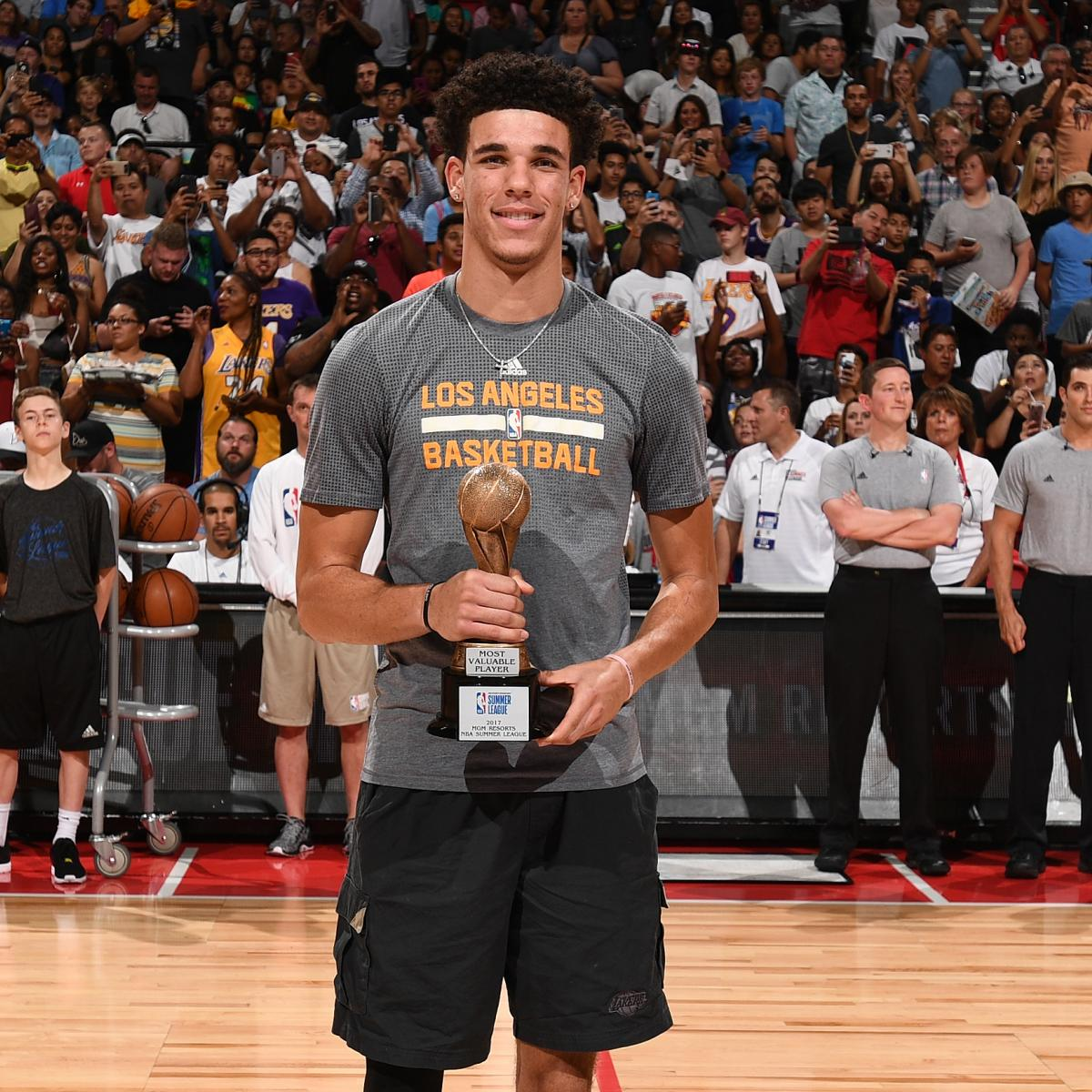 A Five-Part Blueprint For Lonzo Ball To Win Rookie Of The