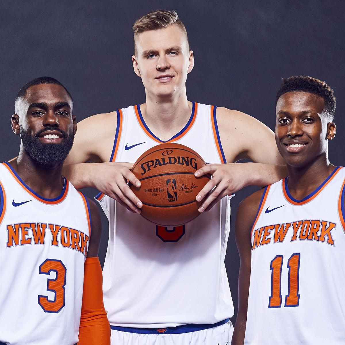 New Cover S Alert The 2017 18 Nba Rookies: 5 Realistic Goals New York Knicks Should Set For 2017-18