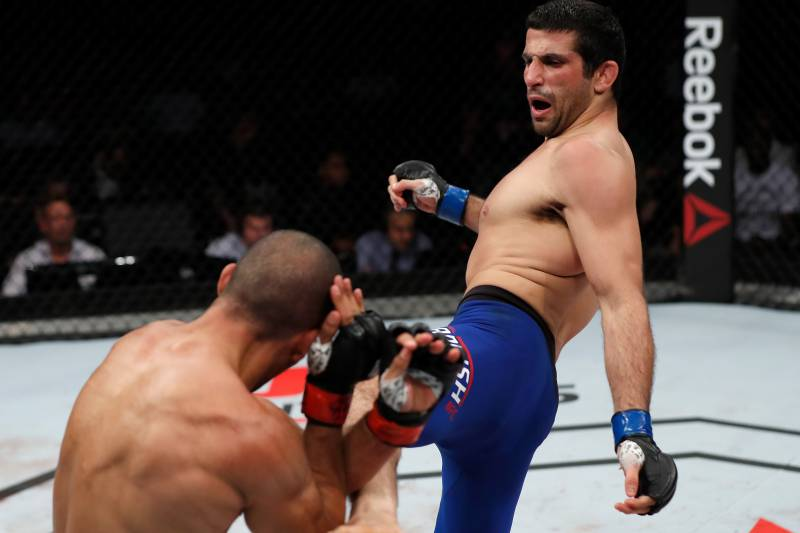 Beneil Dariush is in rebuilding mode after a tough loss to Edson Barboza.