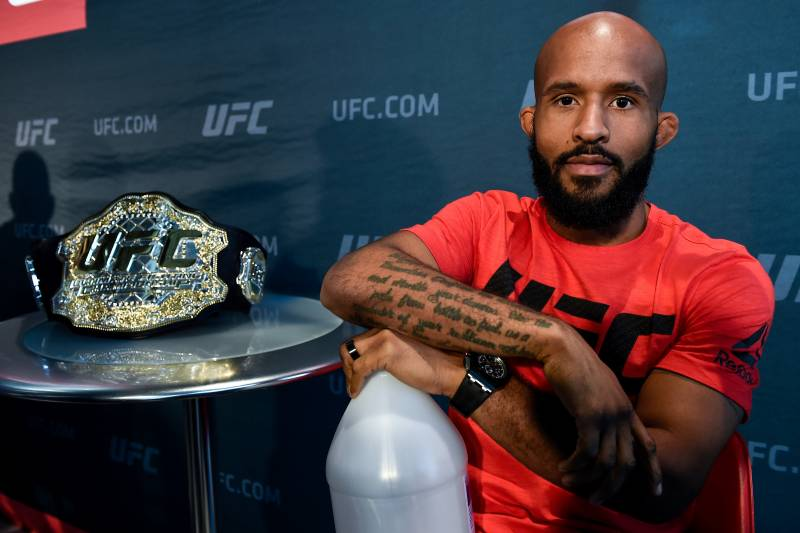 If he wins, Demetrious Johnson breaks Anderson Silva's record for title defenses.