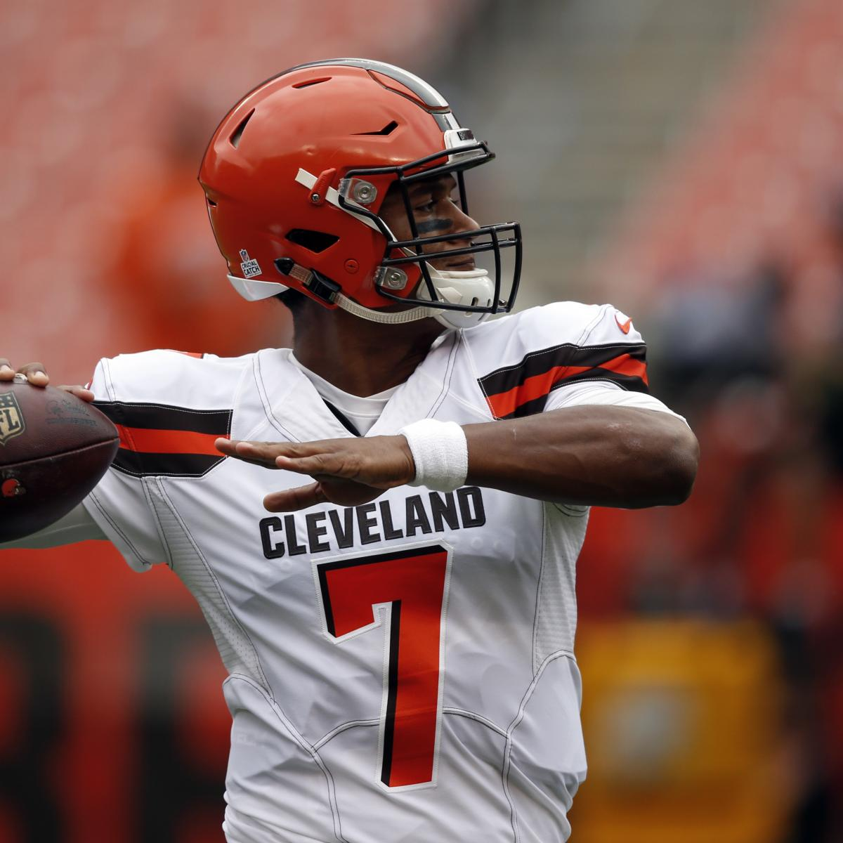 Nfl1000 Rookie Review From Week 9: NFL1000 Week 5 Notebook: Is It Time For Browns To Move On